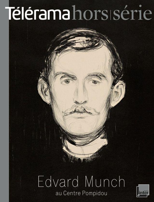 Couverture du hors série Télérama sur l'exposition Munch