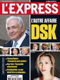 Couverture de L'Express : Tristane Banon / DSK