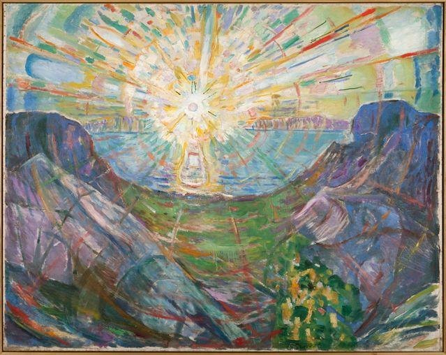 Solen [Le Soleil], 1910-13 Huile sur toile, 162 x 205 cm