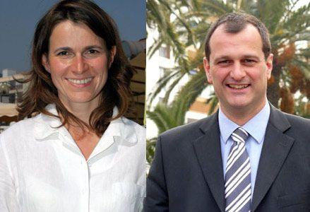 Aurélie Filippetti et Louis Aliot