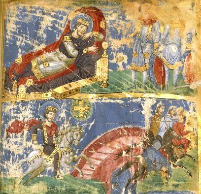 Le songe de Constantin et la bataille du pont Milvius