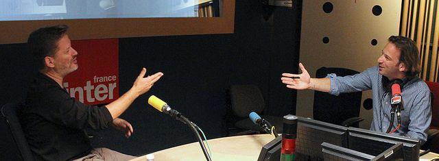 Alexis Jenni et François Busnel