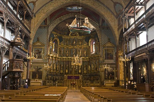 Église Saint-Jean-Baptiste (Saint Jean de Luz)-Nef