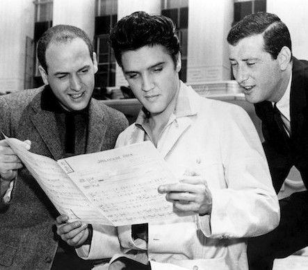 Elvis Presley, Jerry Leiber et Mike Stoller