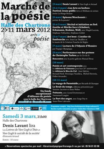 Le Marché de la poésie 2012
