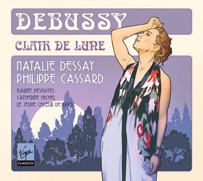 Clair de Lune, mélodies de Claude Debussy