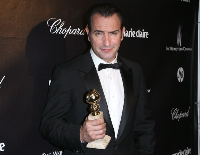 Jean Dujardin et son Golden Globe photo Allstar Maxppp