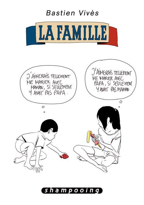 Bastien Vivès - La famille