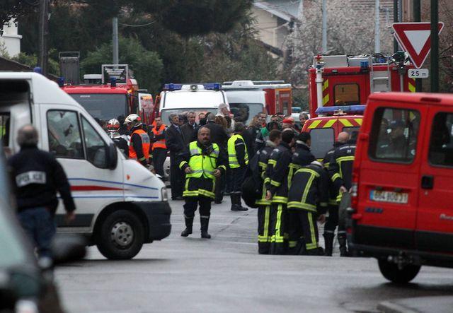 Intervention en cours à Toulouse