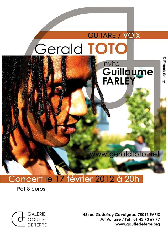 Gerald Toto concert