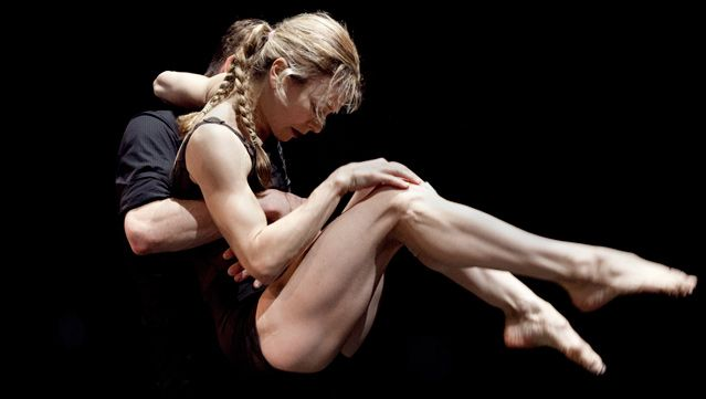 Louise Lecavalier - A few minutes of lock