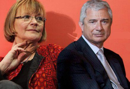 Marie- George Buffet et Claude Bartolone