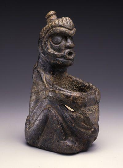 Chamane - Ethnie: Salish - 100-1000 après J.-C.