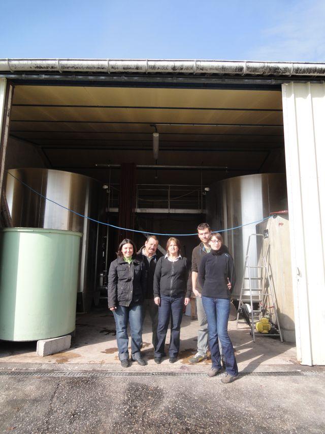 Famille de viticulteurs - Douelle