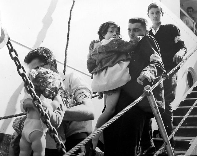 Rapatriés d'Algérie 1962