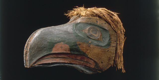 Masque à transformation - Ethnie: Kwakiutl