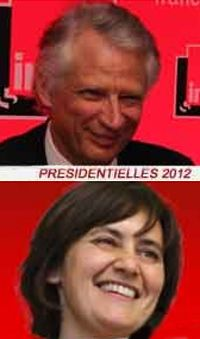 Dominique de Villepin & Nathalie Artaud