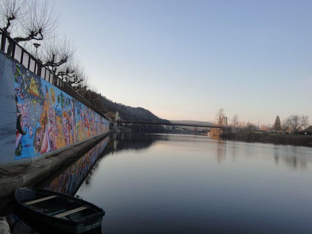 Le mur peint - Douelle