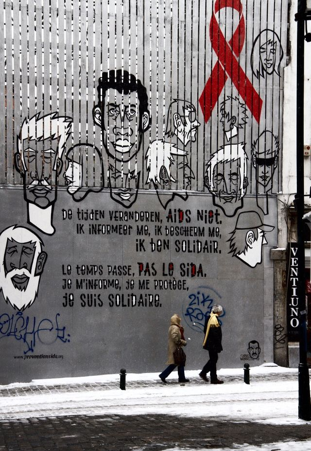"""sida sidaction"" - Bruxelles"
