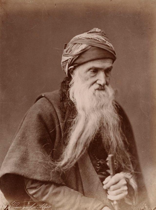 Vieux juif d'Alger