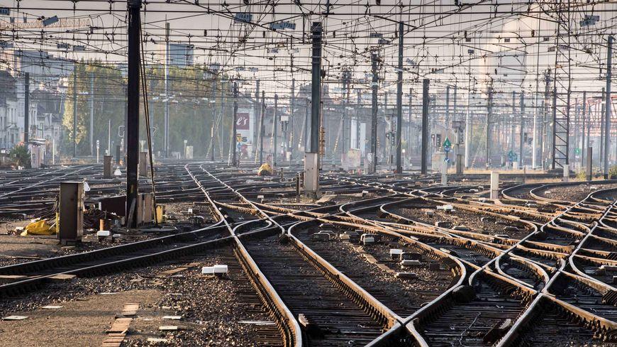 Rails train SNCF