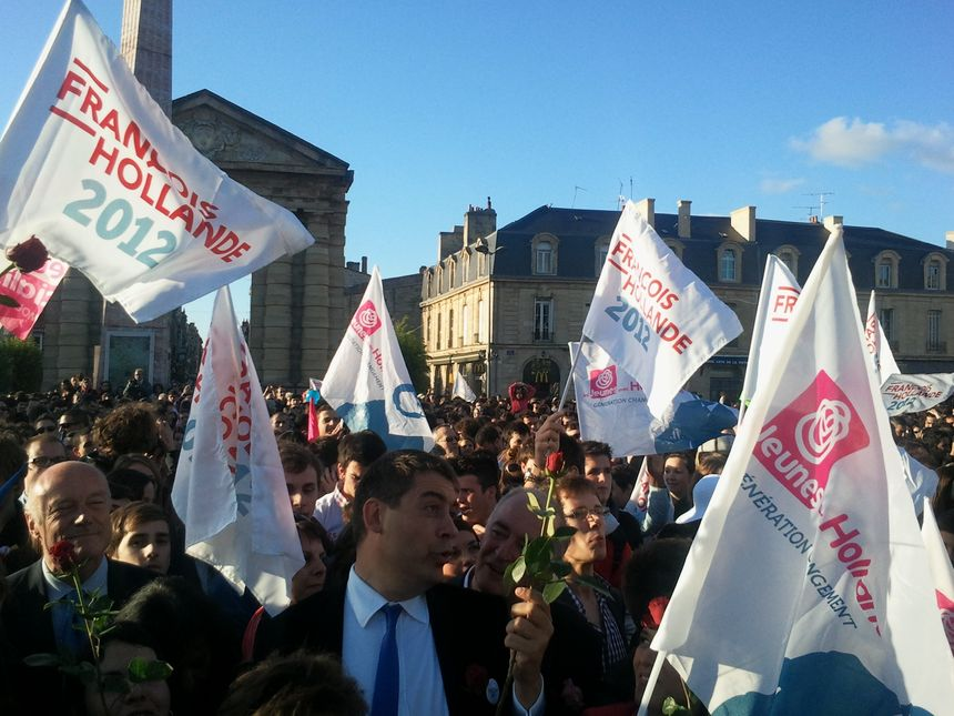 Ludovic Freygefond le soir de l'élection présidentielle - Radio France
