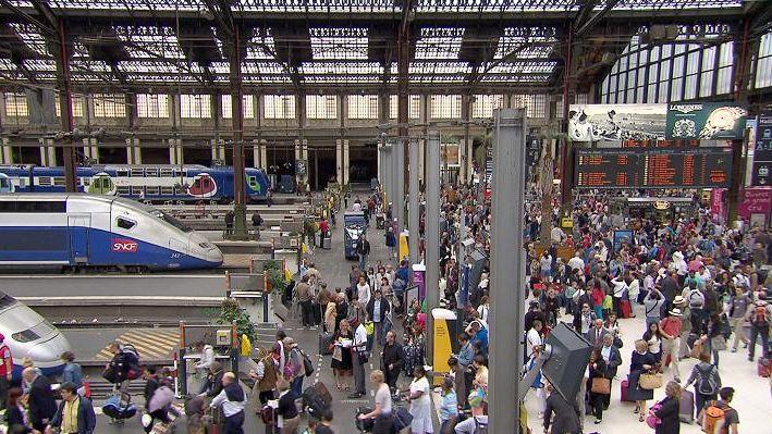 La gare de Lyon (Paris)