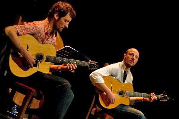 Le duo 'Cartouches' au restaurant Pascaline à ROUEN