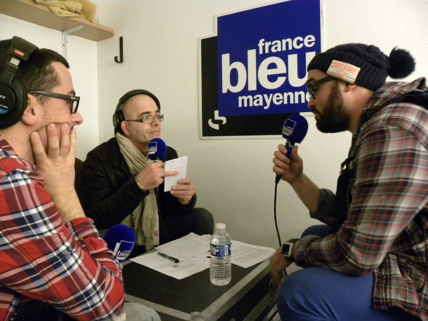 Laval ON AIR - Interview de John Doe's - Radio France