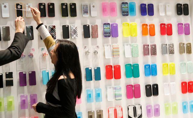 Fin du salon mondial de la téléphonie mobile à Barcelone