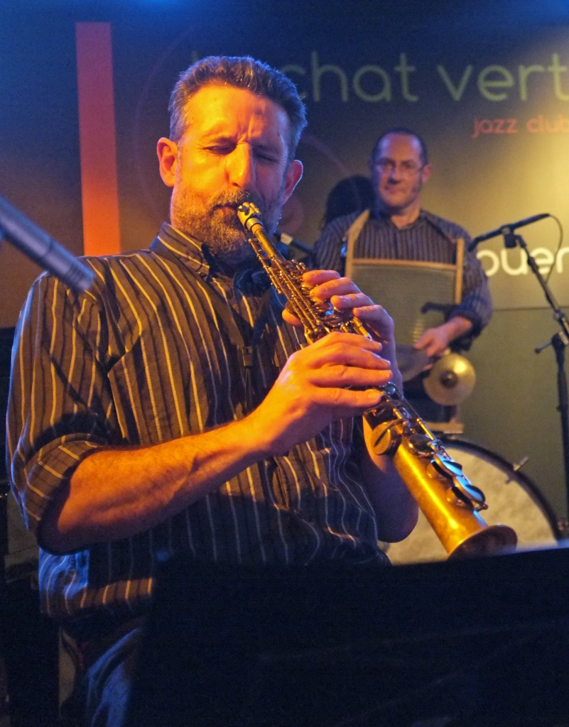 Frédéric OOGHE New Orleans quartet au Chat Vert à ROUEN