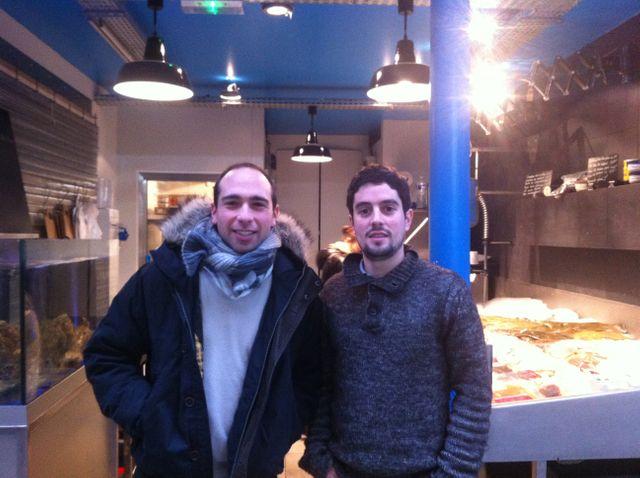 Alexandre Drouard et Samuel Nahon