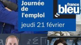 Journée de l'emploi sur France Bleu
