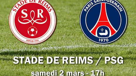 Match en direct  Stade de Reims / PSG 100% Stade de Reims France Bleu Champagne