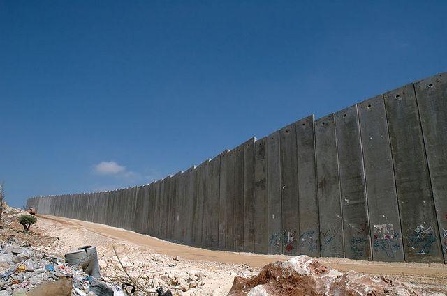 """""""Barrière de sécurité"""" en Cisjordanie"""