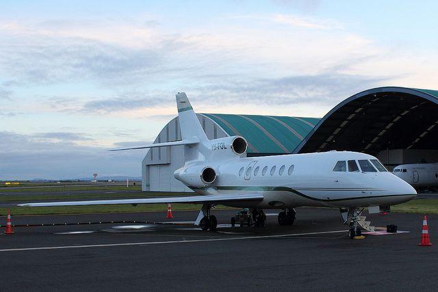 Un Falcon 50