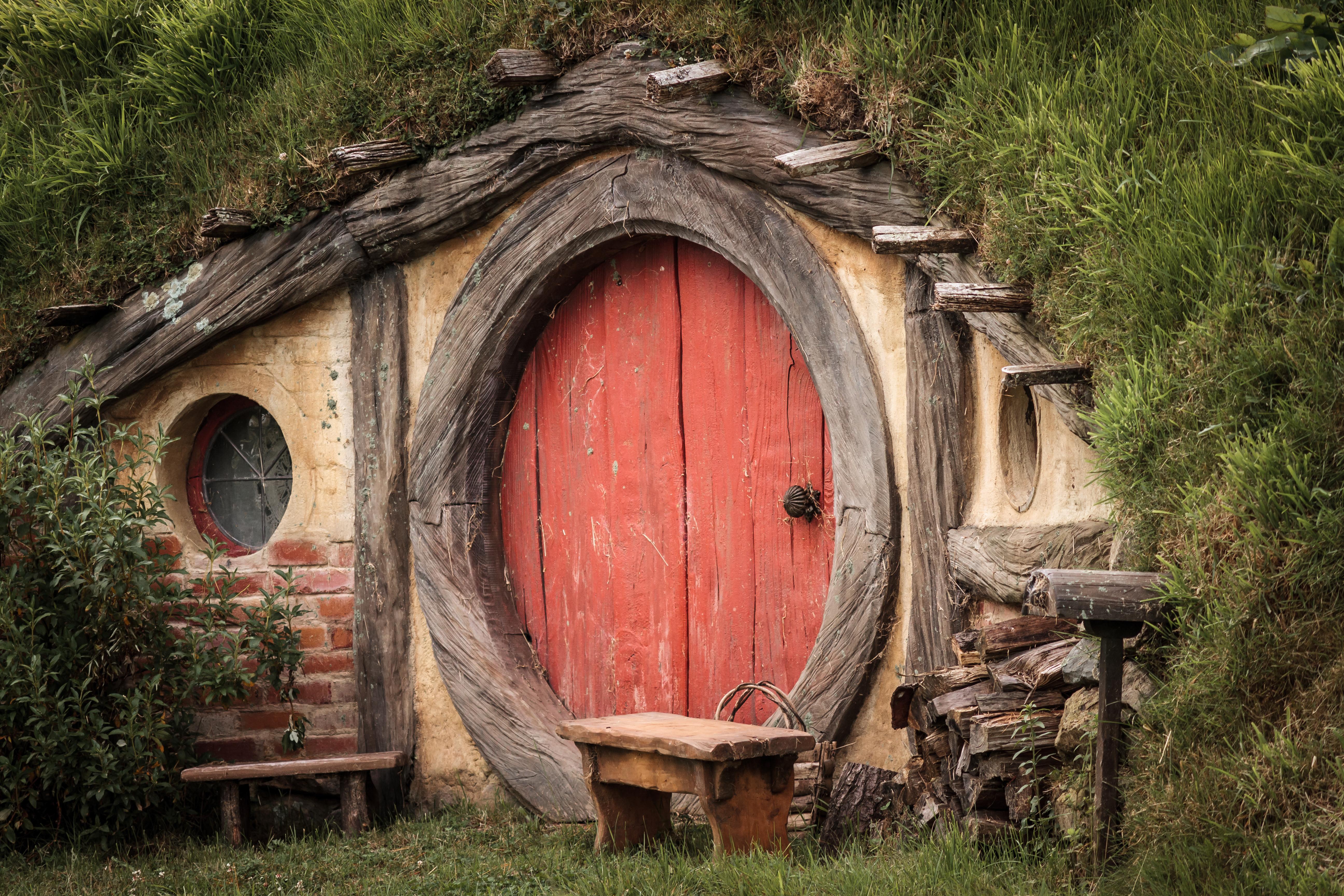 Maison hobbit seigneur des anneaux