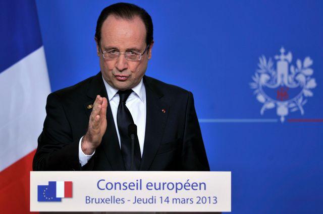 François Hollande au Conseil Européen