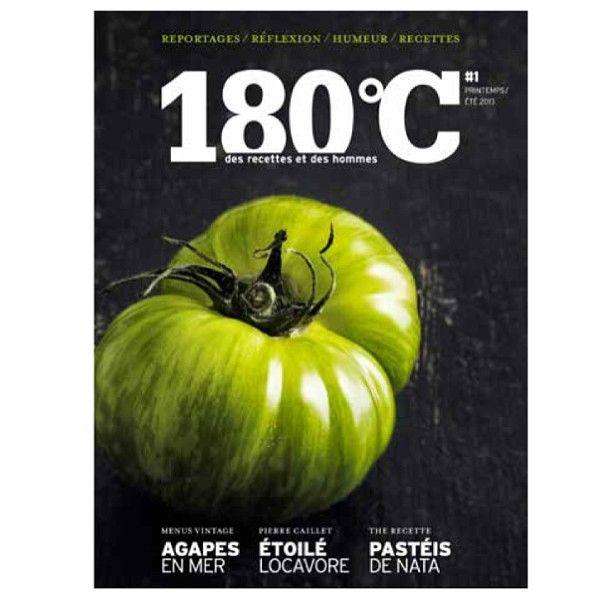 180 °C Des recettes et des hommes