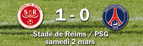 STADE DE REIMS / PSG : 1 - 0 - Radio France