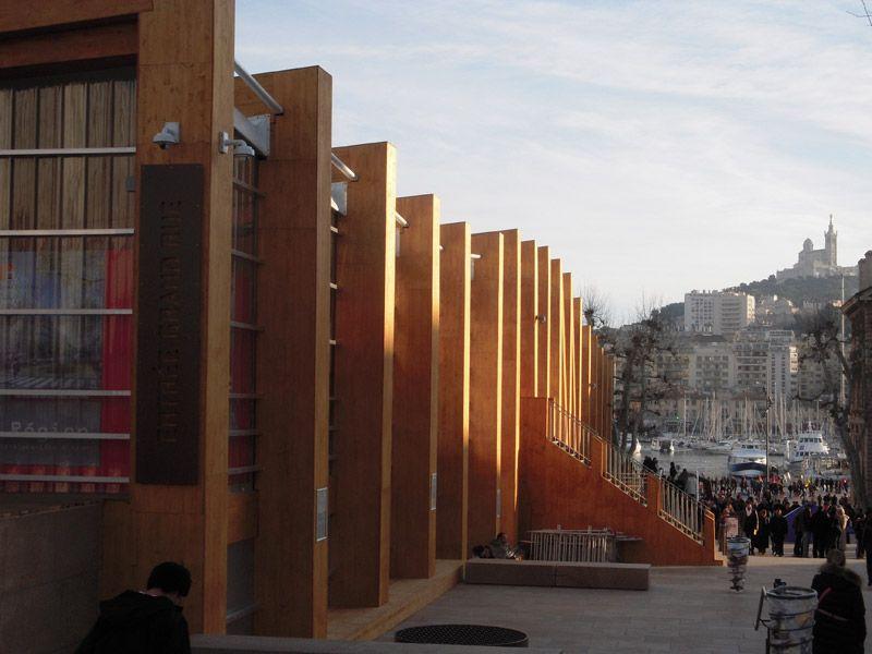Le Pavillon M de Marseille Provence 2013 et la bonne mère - Radio France