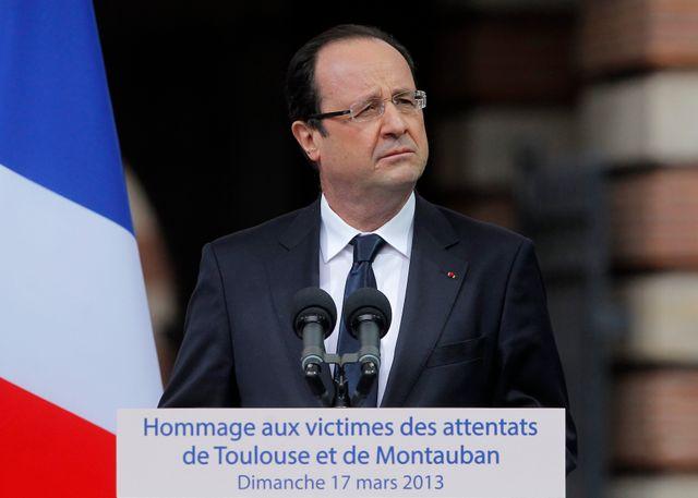 François Hollande à Toulouse