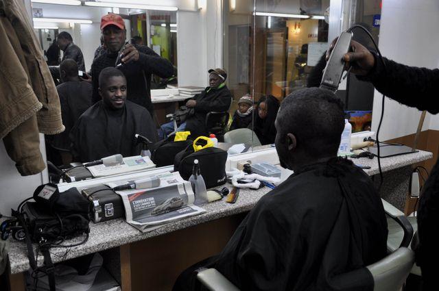 Kody chez le coiffeur