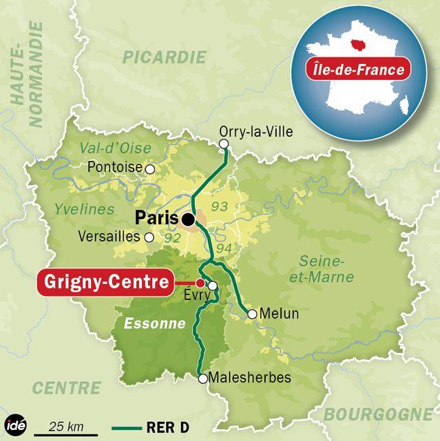 Un RER attaqué dans l'Essonne