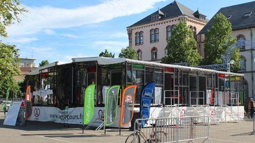L'espace mobile de l'Apprentissage Tour