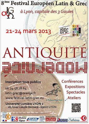 Huitième Festival européen latin-grec