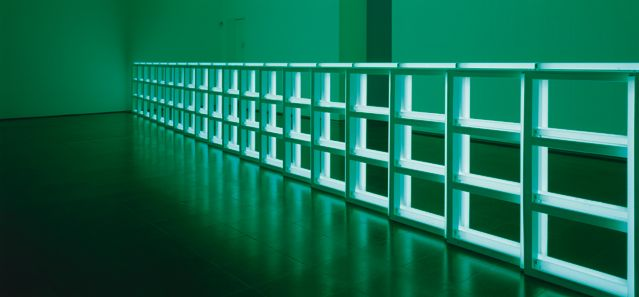 Dan Flavin Untitled (to you, Heiner, with Admiration and Affection) 1973 Tubes fluorescents