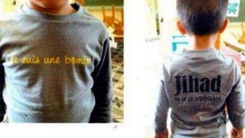Le t-shirt porté par Jihad, trois ans