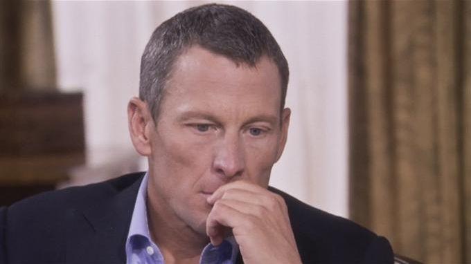 L'ex cycliste américain Lance Armstrong