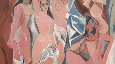 Pablo Picasso, Les Demoiselles d'Avignon, 1907, Huile sur toile, 243,9 x 233,7 cm, Museum of Modern Art, New York